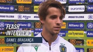 """Daniel Bragança: """"O nosso objetivo é ganhar tudo"""""""