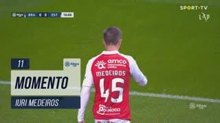 SC Braga, Jogada, Iuri Medeiros aos 11'