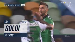 GOLO! Sporting CP, Sporar aos 64', Sporting CP 1-0 CD Mafra