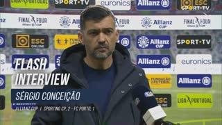 """Sérgio Conceição: """"Resultado caído do céu"""""""