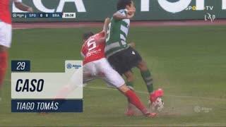 Sporting CP, Caso, Tiago Tomás aos 29'