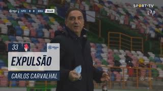 SC Braga, Caso, Carlos Carvalhal aos 33'