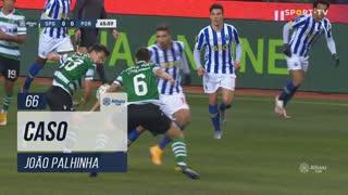 Sporting CP, Caso, João Palhinha aos 66'
