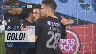 GOLO! SL Benfica, Pizzi aos 45', SC Braga 1-1 SL Benfica