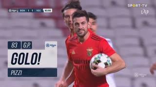GOLO! SL Benfica, Pizzi aos 83', SL Benfica 1-1 Vitória SC