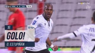 GOLO! Vitória SC, O. Estupiñán aos 16', SL Benfica 0-1 Vitória SC