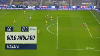FC Porto, Golo Anulado, Manafá aos 88'