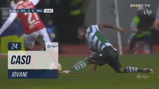 Sporting CP, Caso, Jovane aos 24'