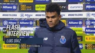 """Luis Díaz: """"Foi um grande jogo"""""""