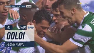 GOLO! Sporting CP, Pedro Porro aos 41', Sporting CP 1-0 SC Braga