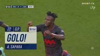 GOLO! Leixões SC, A. Sapara aos 21', Vitória SC 0-1 Leixões SC
