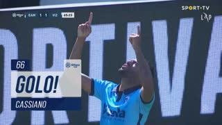GOLO! FC Vizela, Cassiano aos 66', Estrela Amadora 1-1 FC Vizela