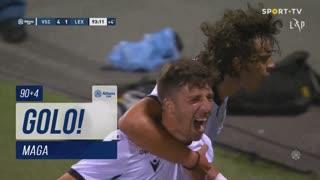 GOLO! Vitória SC, Maga aos 90'+4', Vitória SC 4-1 Leixões SC