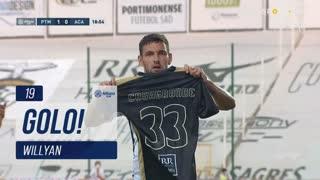 GOLO! Portimonense, Willyan aos 19', Portimonense 1-0 A. Académica