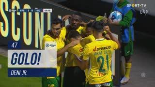 GOLO! FC P.Ferreira, Deni Jr. aos 47', FC P.Ferreira 1-0 Gil Vicente FC