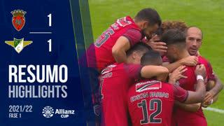 Allianz Cup (1ª Fase): Resumo FC Penafiel 5-4 Moreirense FC