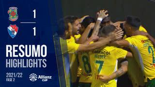 Allianz Cup (2ª Fase): Resumo FC P.Ferreira 5-4 Gil Vicente FC
