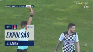 Boavista FC, Expulsão, G. Sauer aos 90'+3'