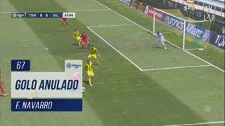 Gil Vicente FC, Golo Anulado, F. Navarro aos 67'