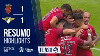Allianz Cup (1ª Fase): Resumo Flash FC Penafiel 5-4 Moreirense FC