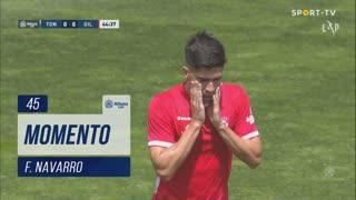 Gil Vicente FC, Jogada, F. Navarro aos 45'