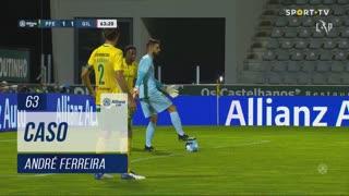 FC P.Ferreira, Caso, André Ferreira aos 63'