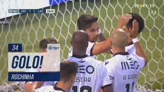 GOLO! Vitória SC, Rochinha aos 34', Vitória SC 1-1 Leixões SC