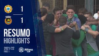 Allianz Cup (1ª Fase): Resumo Varzim SC 4-5 Rio Ave FC