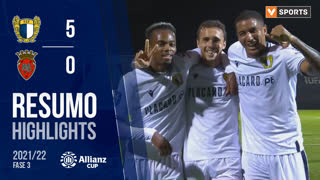 Allianz Cup (Fase 3 - Jornada 1): Resumo FC Famalicão 5-0 FC Penafiel