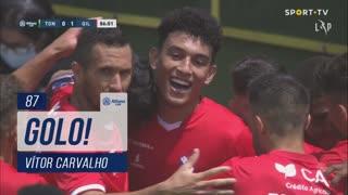 GOLO! Gil Vicente FC, Vítor Carvalho aos 87', CD Tondela 0-1 Gil Vicente FC