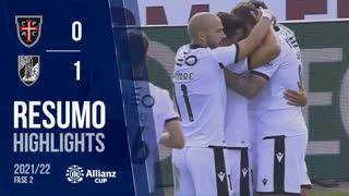 Allianz Cup (2ª Fase): Resumo Casa Pia AC 0-1 Vitória SC