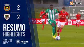 Allianz Cup (Fase 3 - Jornada 1): Resumo Rio Ave FC 2-2 Santa Clara
