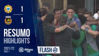 Allianz Cup (1ª Fase): Resumo Flash Varzim SC 4-5 Rio Ave FC