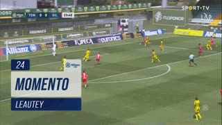 Gil Vicente FC, Jogada, Leautey aos 24'