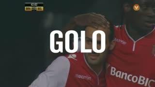 GOLO! SC Braga, Rúben Micael aos 42', SC Braga 3-0 Belenenses