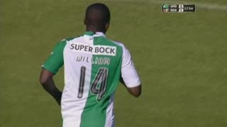 Sporting, Jogada, William aos 18'