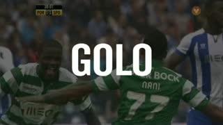 GOLO! Sporting CP, Nani aos 39', FC Porto 1-2 Sporting CP