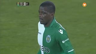 Sporting CP, Jogada, William aos 8'