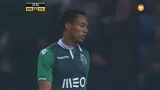 Sporting CP, Jogada, Carrillo aos 32'