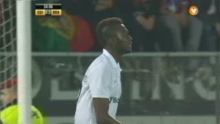 Vitória SC, Jogada, B. Saré aos 34'