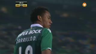 Sporting, Jogada, Carrillo aos 20'