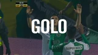 GOLO! Sporting CP, Montero aos 67', Sp. Espinho 0-3 Sporting CP