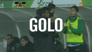 Sporting CP, Paulo Oliveira aos 38', Vizela 1-2 Sporting CP