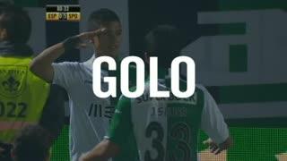 GOLO! Sporting CP, Montero aos 81', Sp. Espinho 0-5 Sporting CP