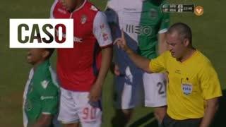 SC Braga, Caso, Baiano aos 23'