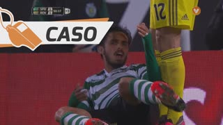 Sporting CP, Caso, B. Ruiz aos 90'+1'