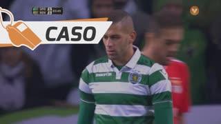 Sporting CP, Caso, Slimani aos 83'