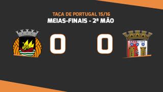 Taça de Portugal (Meias-Finais): Resumo Rio Ave FC 0-0 SC Braga