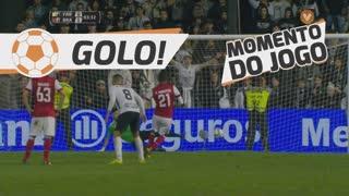 GOLO! SC Braga, Filipe Augusto aos 93', SC Farense 0-1 SC Braga