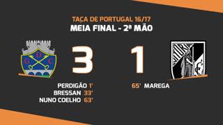 Taça de Portugal (Meias-Finais): Resumo GD Chaves 3-1 Vitória SC